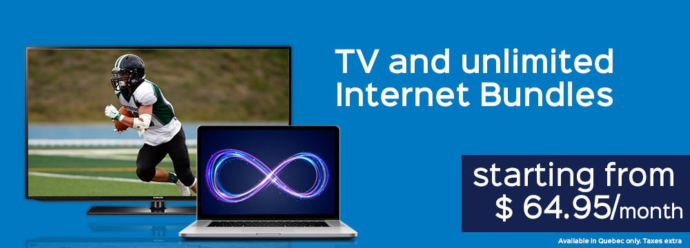 TV and Internet bundles- TV service Montreal
